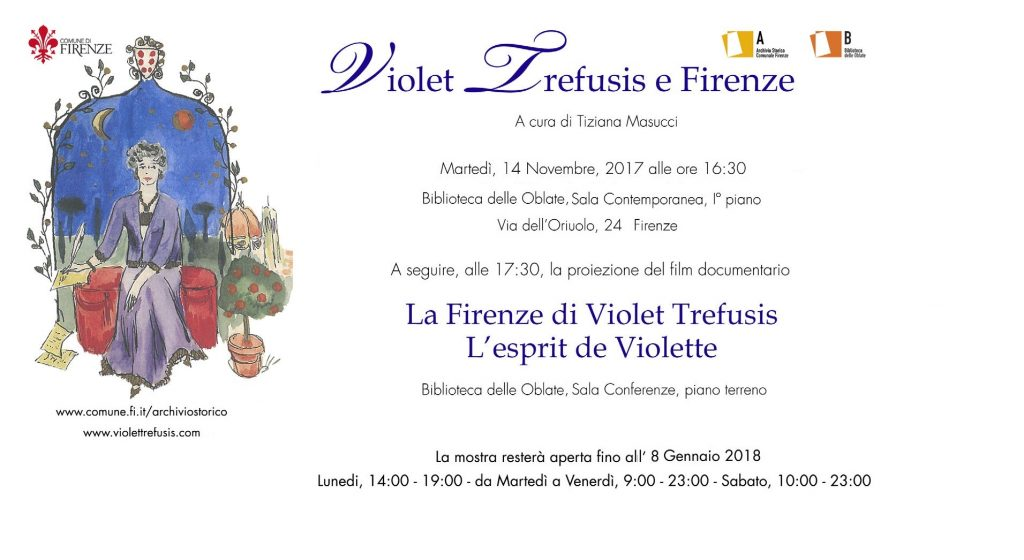 Exposition documentaire: Violet Trefusis e Firenze