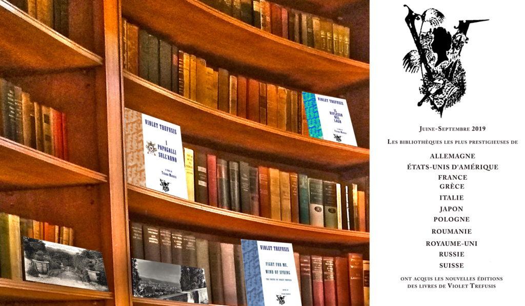 Les nouvelles éditions dans les Bibliothèques du Monde entier.